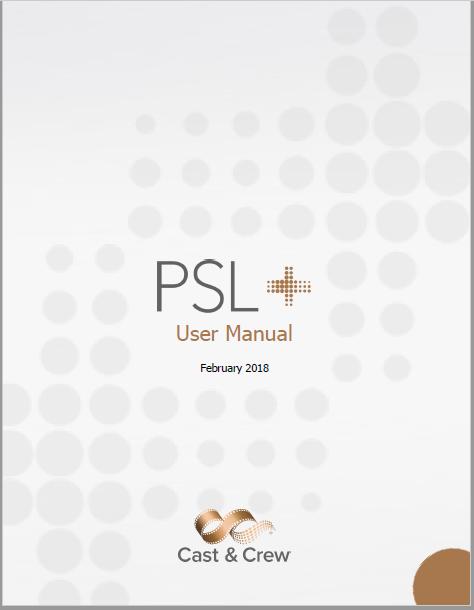 PSL user guide