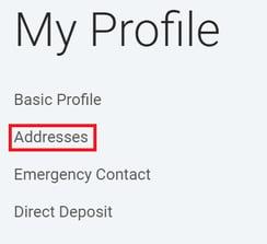 MyC&C Change Address