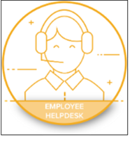 employee helpdesk icon