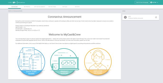 MyC&C Homepage